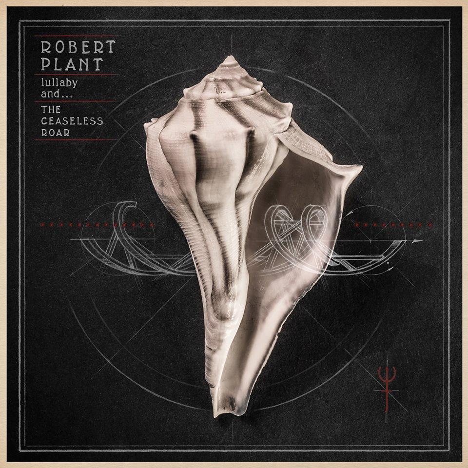 """""""Lullaby And… The Ceaseless Roar"""", Robert Plant, okładka (źródło: materiały prasowe)"""