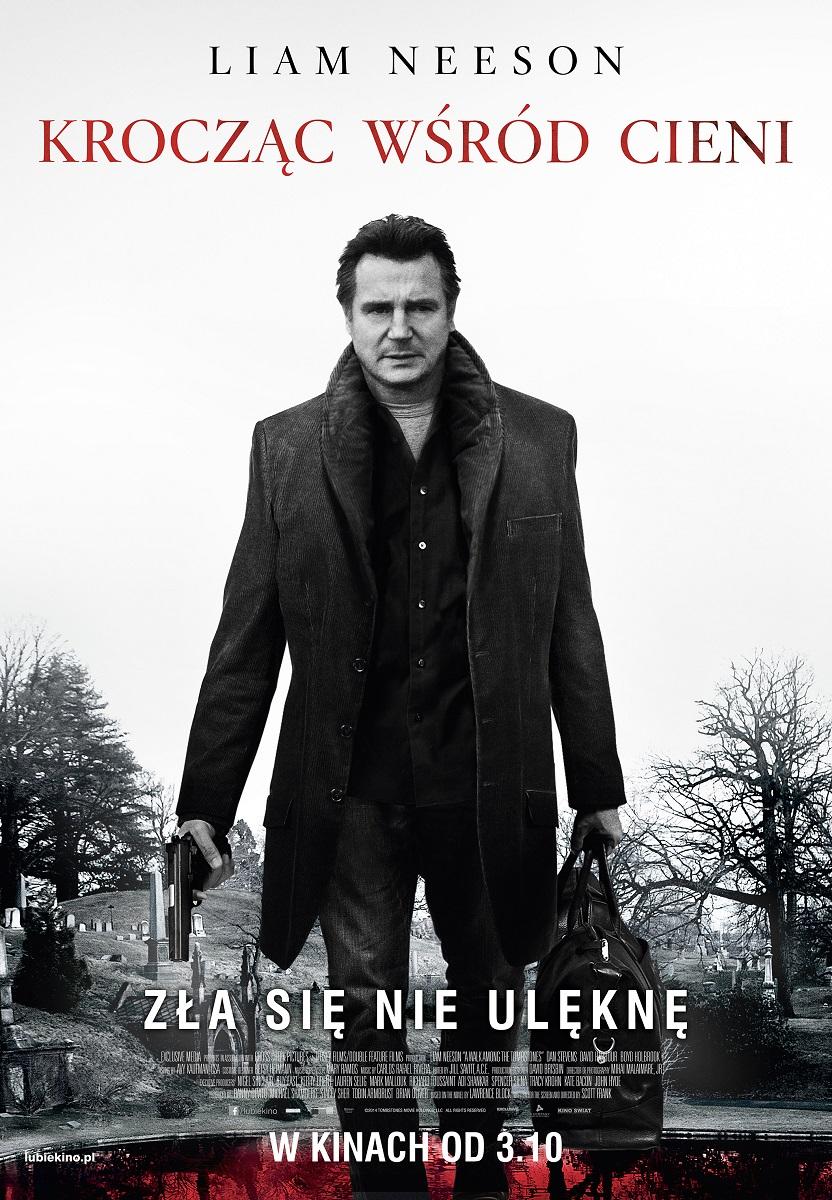 """Plakat filmu """"Krocząc wśród cieni"""", (źródło: materiały prasowe organizatora)"""