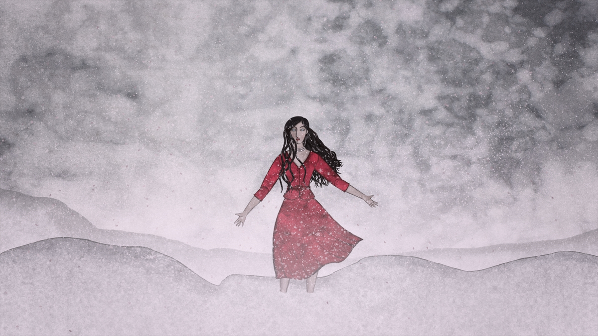 """Śnieg"" – reż. Ivana Šebestova, kadr (źródło: materiały prasowe)"