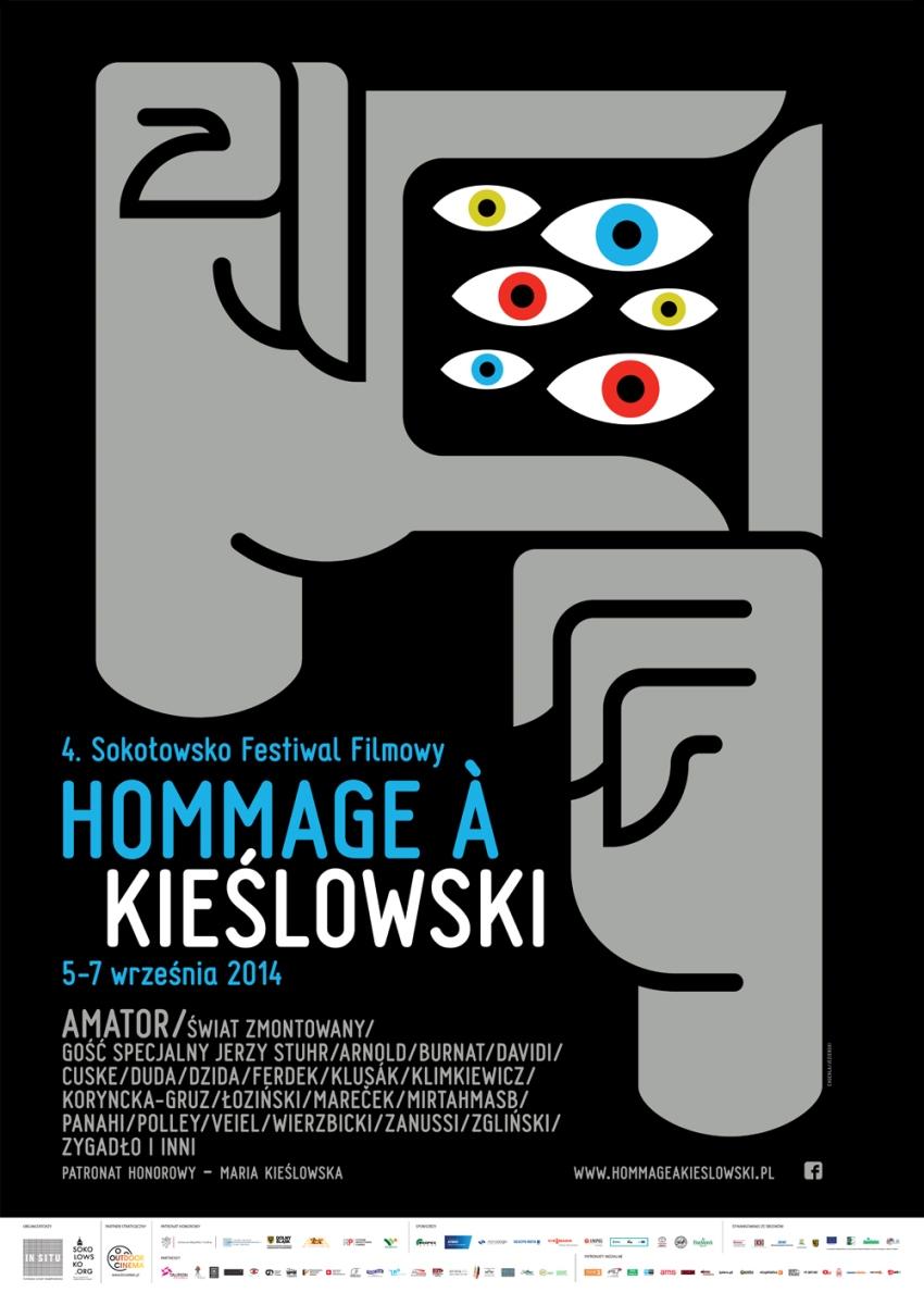 """""""Sokołowsko Festiwal Filmowy Hommage à Kieślowski"""" – plakat (źródło: materiały prasowe)"""