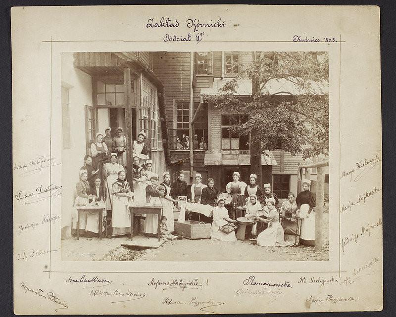 """Stanisław Bizański, """"Zakład Kórnicki. Oddział II-gi, Kuźnice 1895"""", 1895, odbitka z negatywu szklanego (źródło: materiały prasowe organizatora)"""