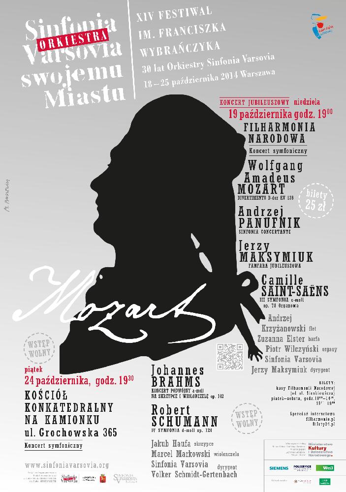 Plakat 14. Festiwalu im. Franciszka Wybrańczyka, (źródło: materiały prasowe organizatora)