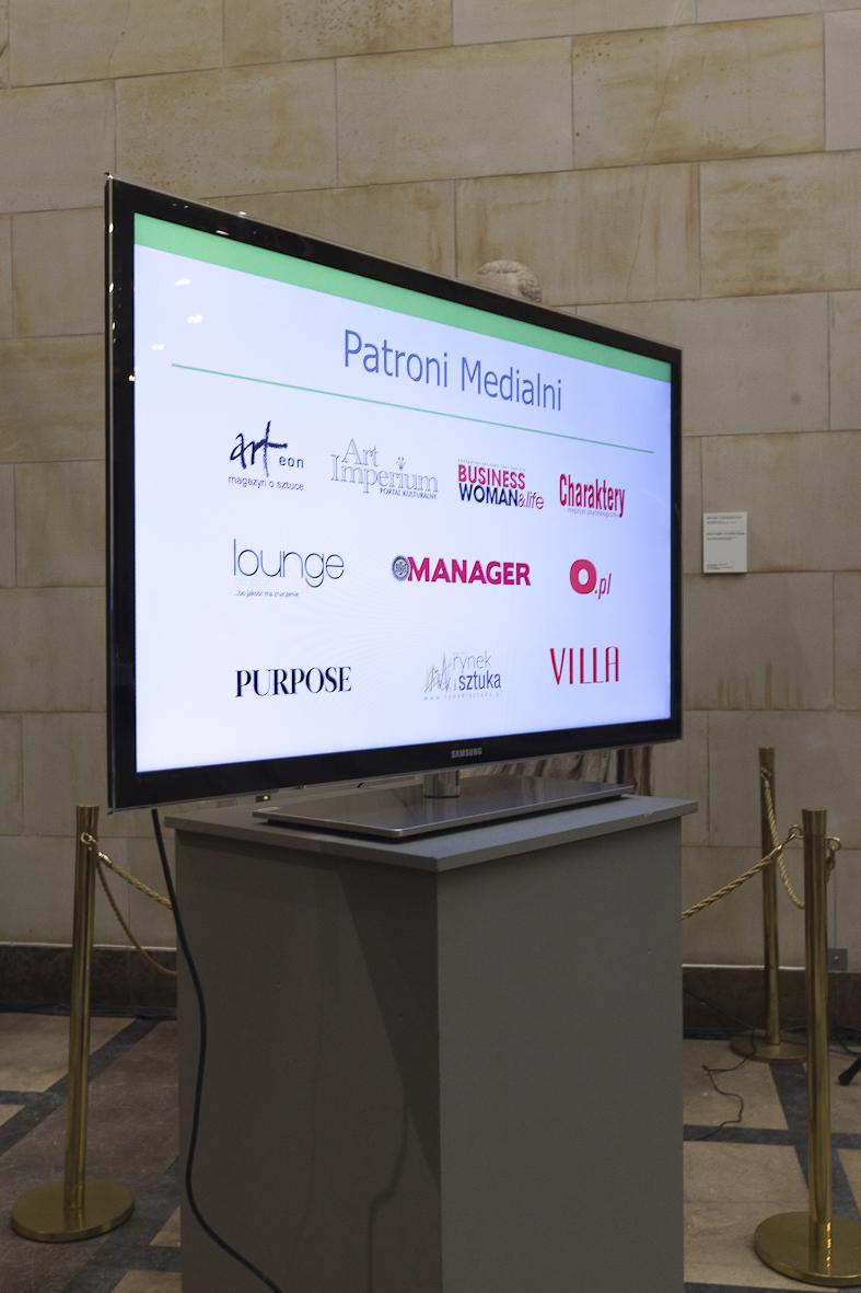 IX Aukcja Charytatywna ziarno Sztuki – ogród Nadziei, Muzeum Narodowe w Warszawie, 29 października 2014 r. (źródło: materiały prasowe organizatora)
