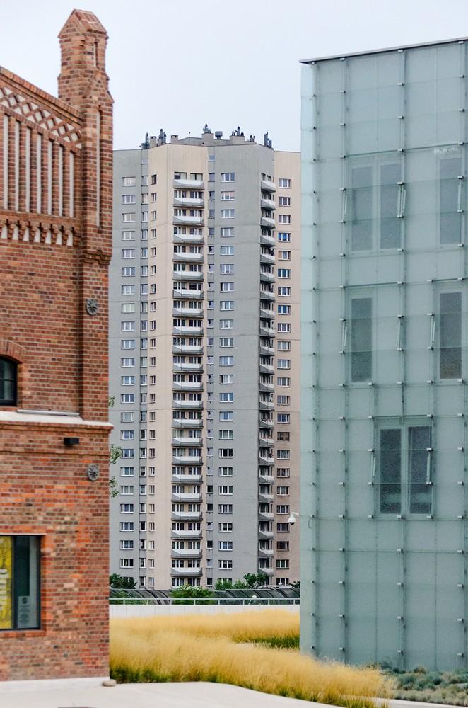 Fragment osiedla Roździeńskiego w Katowicach zaprojektowanego przez architektów Aleksadra Frantę i Henryka Buszko, fot. Iwona Wander (źródło: materiały prasowe organizatora)
