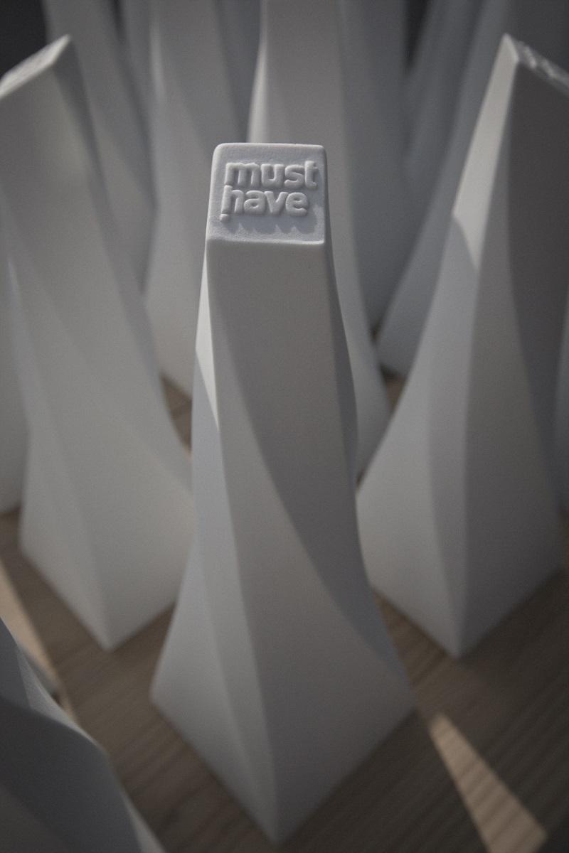 """Zaprojektowana przez Bartka Mejora statuetka """"must have"""", (źródło: materiały prasowe)"""