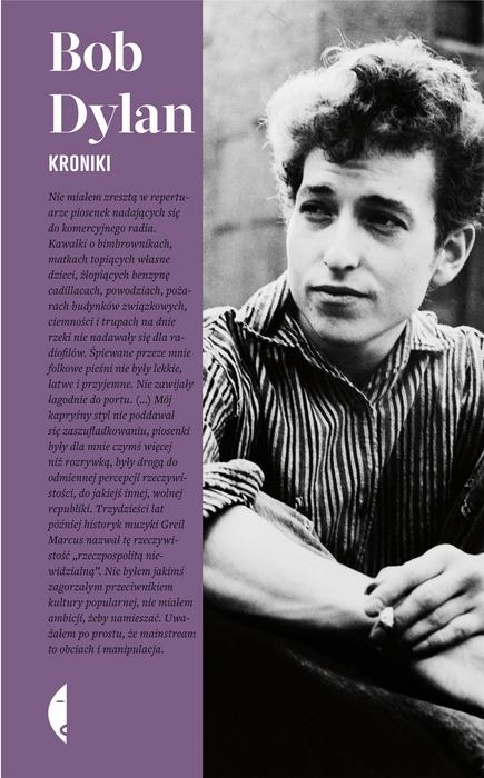 """Bob Dylan – """"Kroniki. Tom 1"""", okładka (źródło: materiały prasowe wydawcy)"""