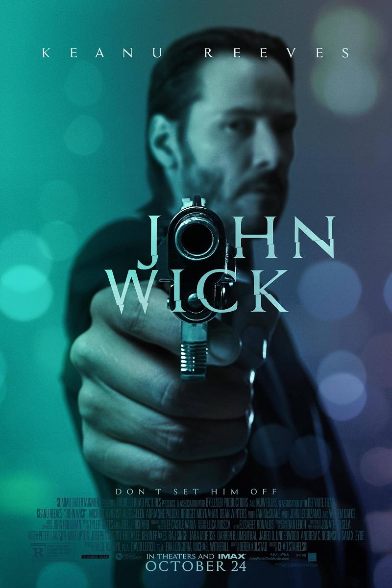"""Plakat filmu """"John Wick"""", (źródło: materiały prasowe dystrybutora)"""