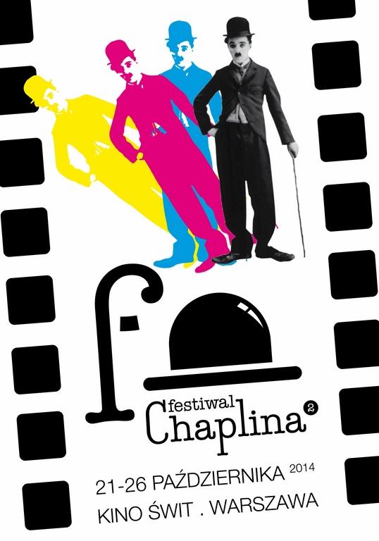 2. Rodzinny Festiwal Chaplina, plakat (źródło: materiały prasowe organizatora)