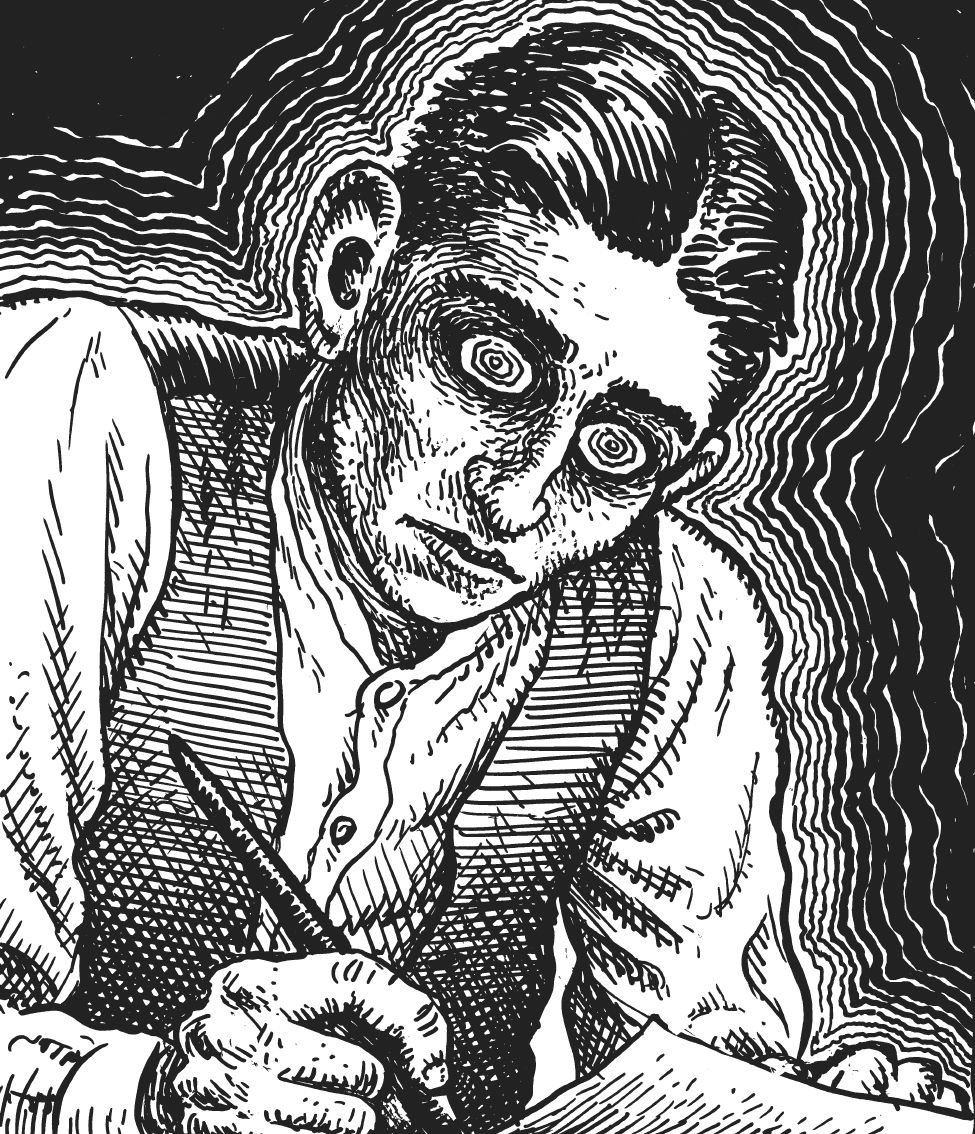 Franz Kafka narysowany przez Roberta Crumba (źródło: materiały prasowe)