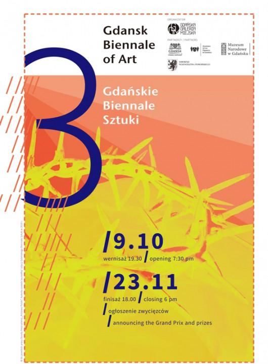 Gdańskie Biennale Sztuki 2014, zaproszenie (źródło: materiały prasowe organizatora)
