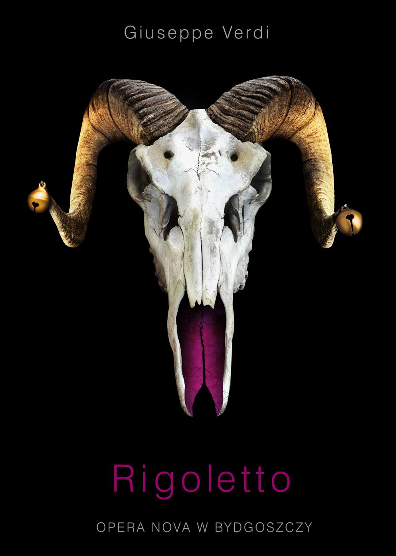 """Plakat spektaklu """"Rigoletto"""", (źródło: materiały prasowe organizatora)"""