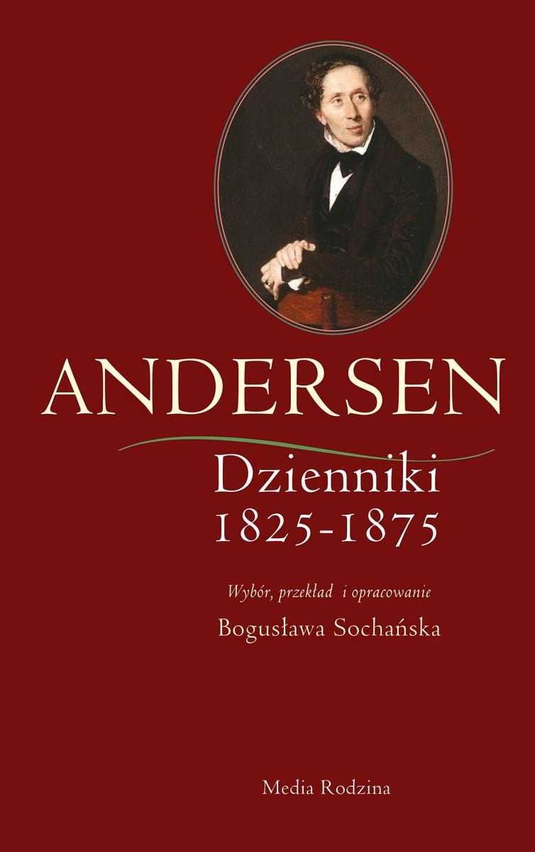 """Hans Christian Andersen """"Dzienniki"""" – okładka (źródło: materiały prasowe)"""