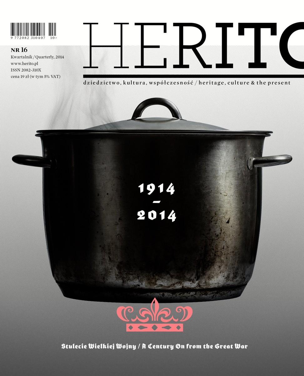 """""""Herito"""" nr 16 – okładka (źródło: materiały prasowe)"""