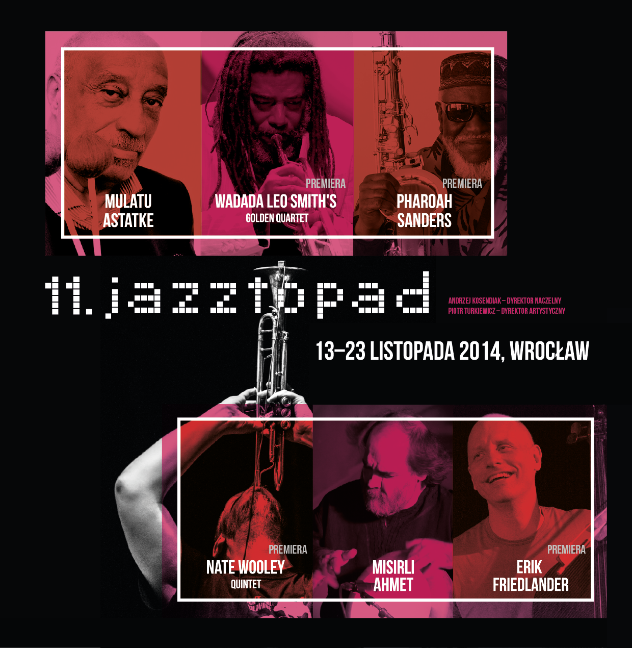 Jazztopad, grafika (źródło: materiały prasowe organizatora)