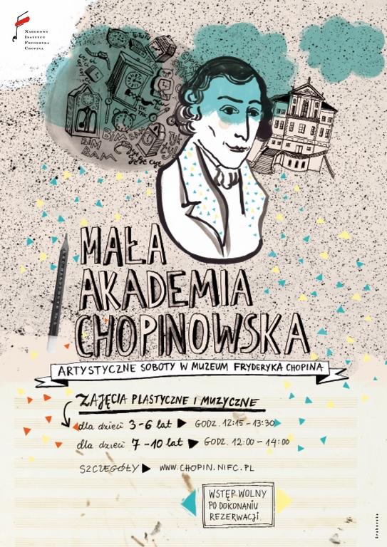 Mała Akademia Chopinowska, plakat (źródło: materiały prasowe organizatora)