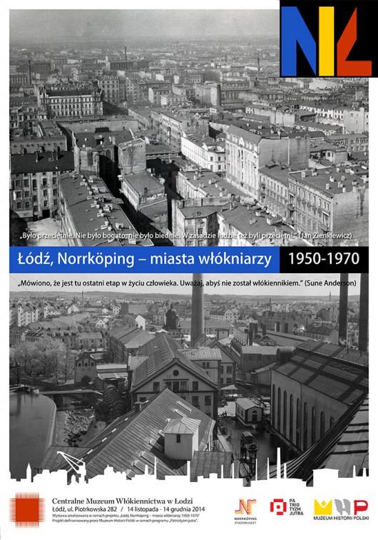 """""""Miasta włókniarzy"""", projekt plakatu: M. Owczarek (źródło: materiały prasowe)"""