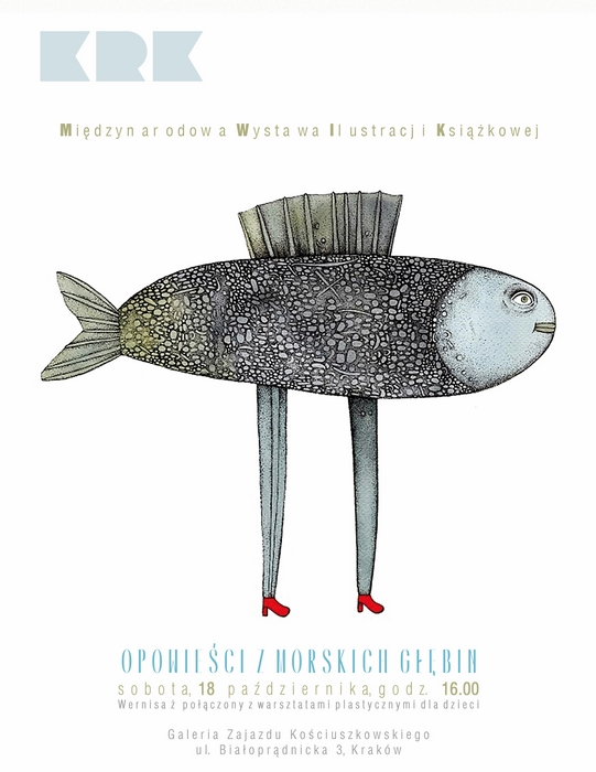 """""""Opowieści z morskich głębin"""", plakat (źródło: materiały prasowe)"""