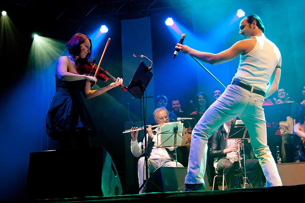 Koncert grupy Queen Symfonicznie, (źródło: materiały prasowe organizatora)