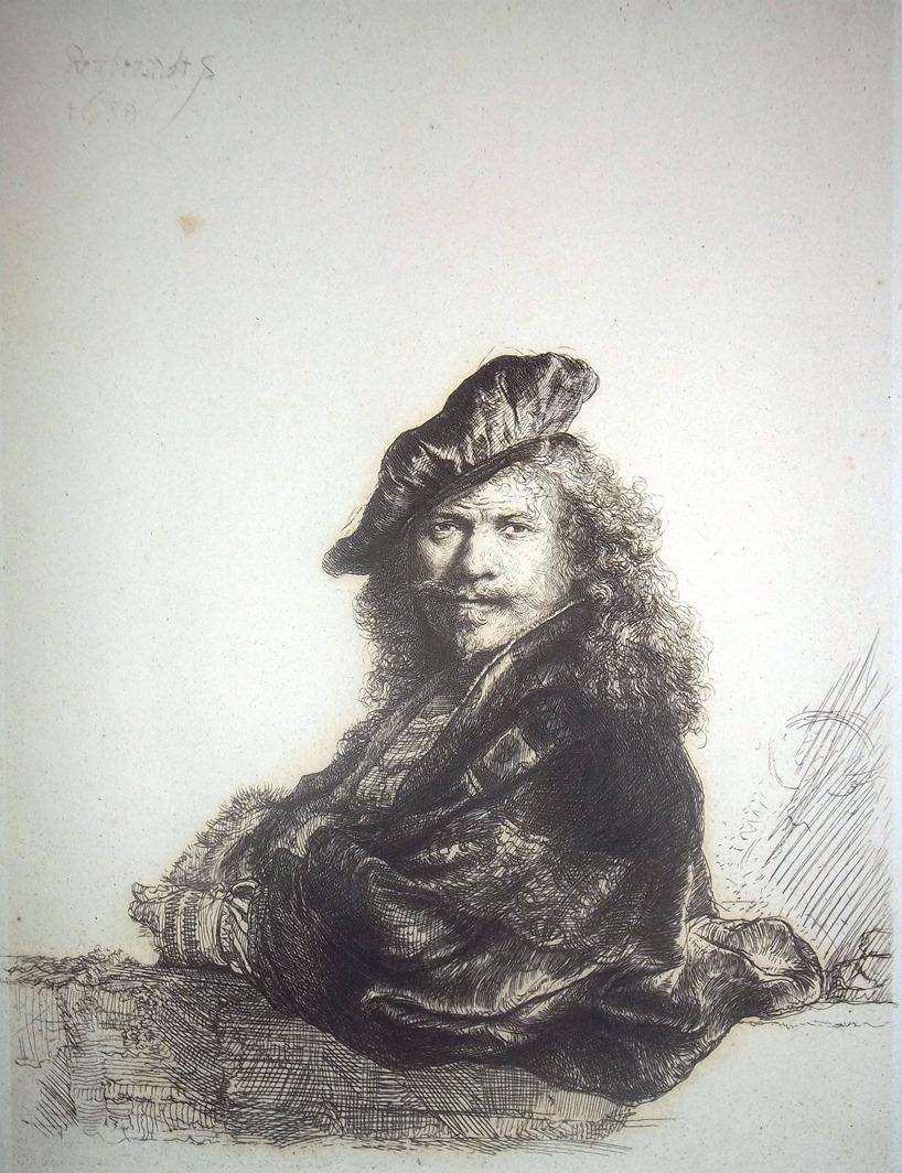 """Rembrandt van Rijn, """"Autoportret"""", (źródło: materiały prasowe organizatora)"""
