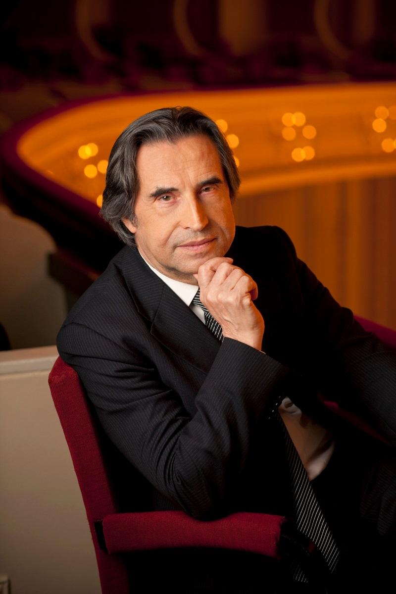 Riccardo Mutti, Dyrygent Chicago Symphony Orchestra, (źródło: materiały prasowe organizatora)