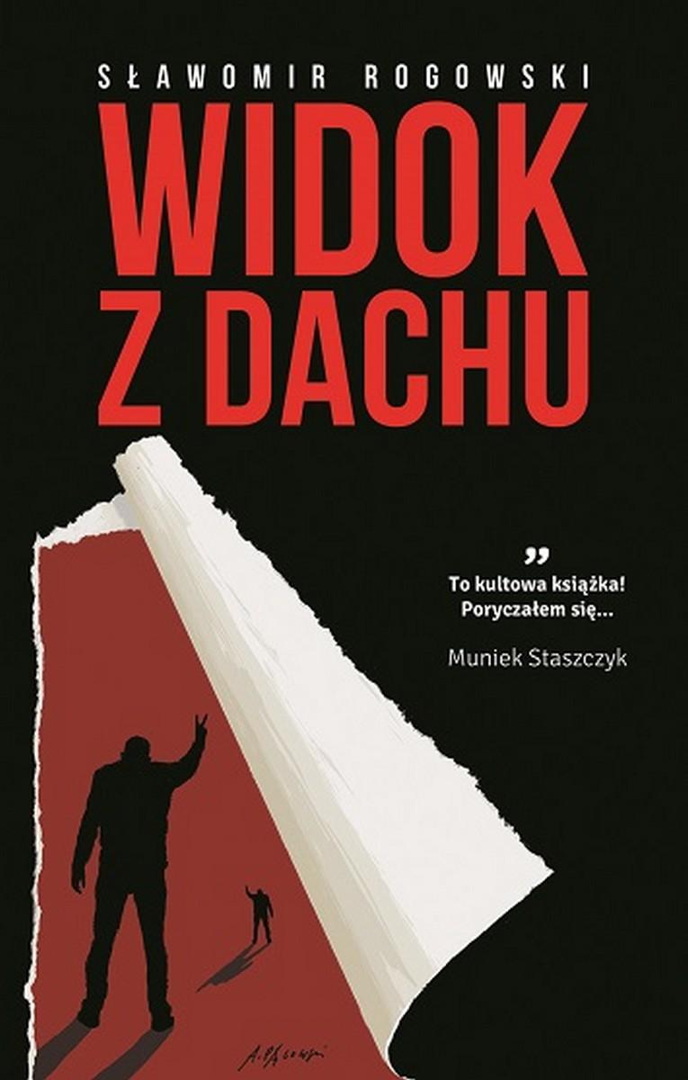 """Sławomir Rogowski """"Widok z dachu"""" – okładka (źródło: materiały prasowe)"""