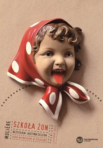 """""""Szkoła żon"""", plakat (źródło: materiały prasowe organizatora)"""