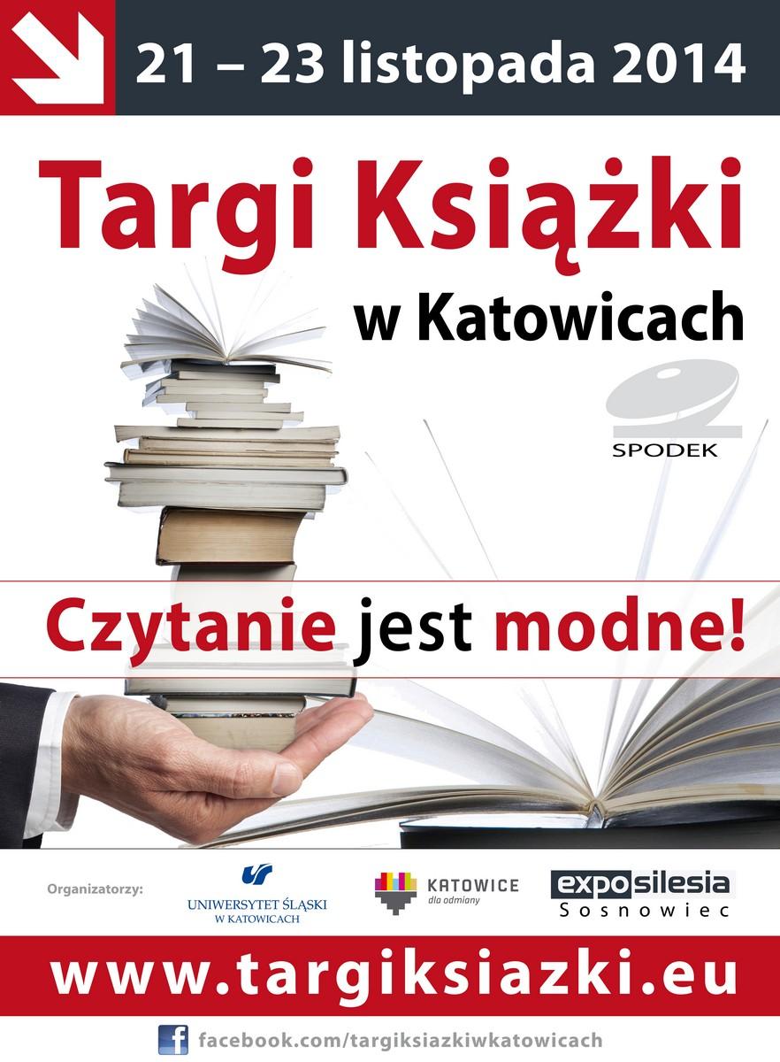 IV Targi Książki w Katowicach – plakat (źródło: materiały prasowe)