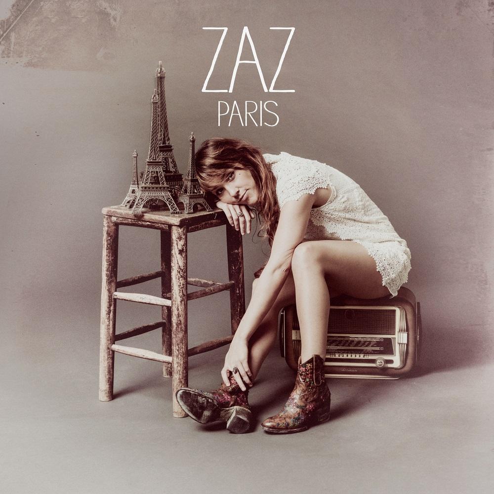"""""""Paris"""", Zaz – okładka albumu (źródło: materiały prasowe organizatora)"""