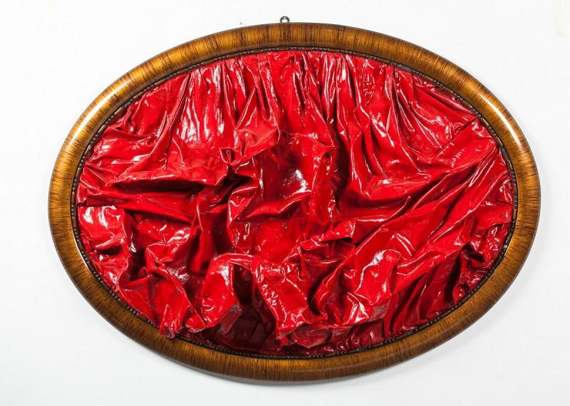 Bartosz Kokosiński, Bez tytułu, fot. Jacek Rojkowski, Galeria Bielska BWA, 41. Biennale Malarstwa Bielska Jesień (źródło: materiały prasowe Galerii Bielskiej BWA)