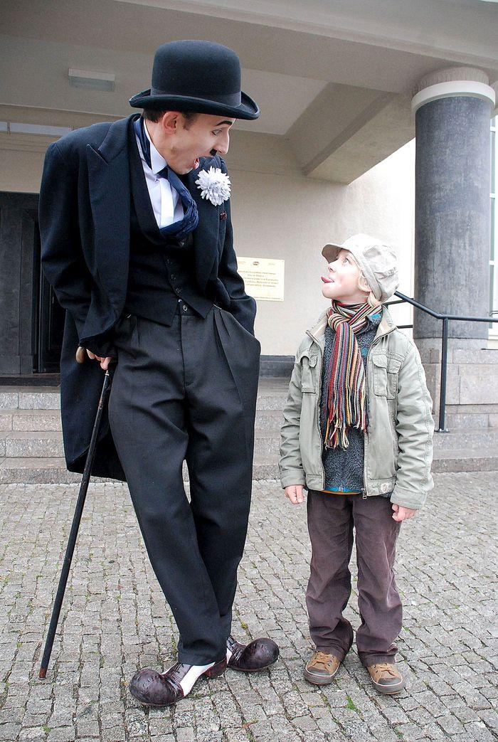 """""""Być jak Charlie Chaplin"""" reż. Mateusz Deskiewicz, Piotr Wyszomirski (źródło: materiały prasowe organizatora)"""