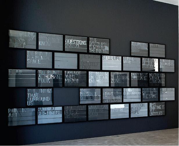 "Christian Vetter, ""Painting Manifesto"", 2010, oil on paper, 42 x 59,4 cm (źródło: materiały prasowe organizatora)"