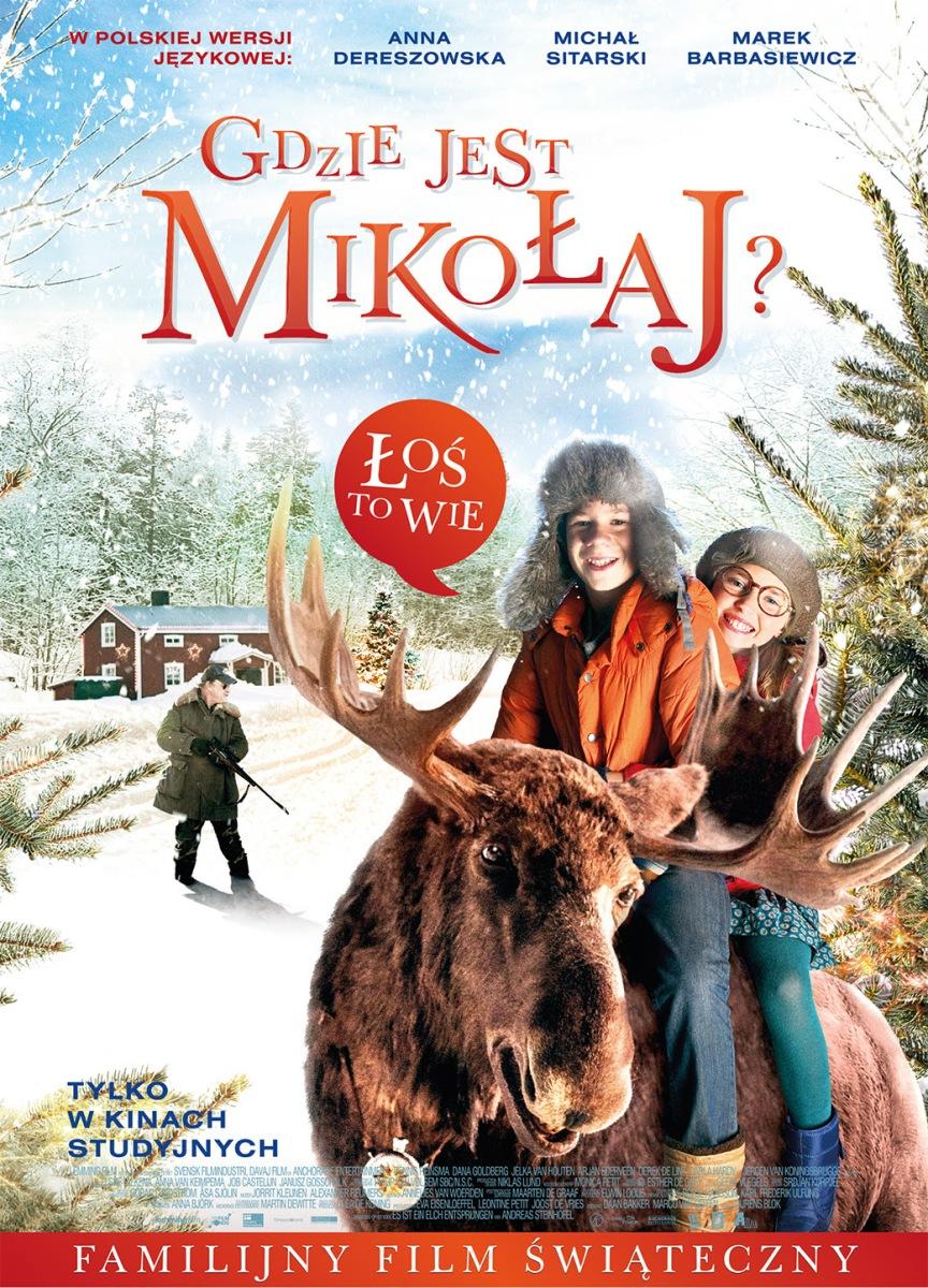 """""""Gdzie jest Mikołaj?"""" reż. Lourens Blok – plakat (źródło: materiały prasowe dystrybutora)"""