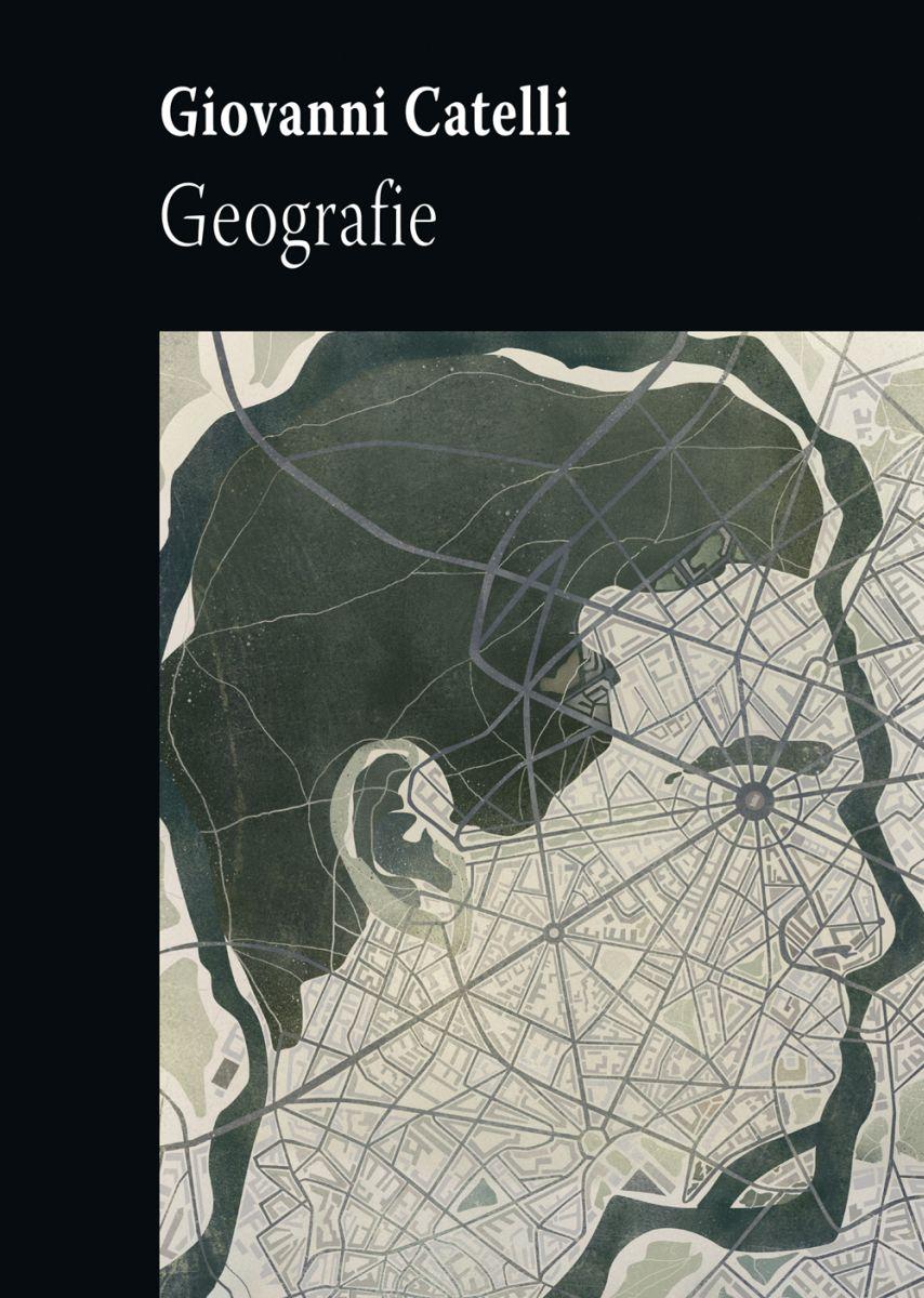 """Giovanni Catelli, """"Geografie"""" – okładka(źródło: materiały prasowe)"""