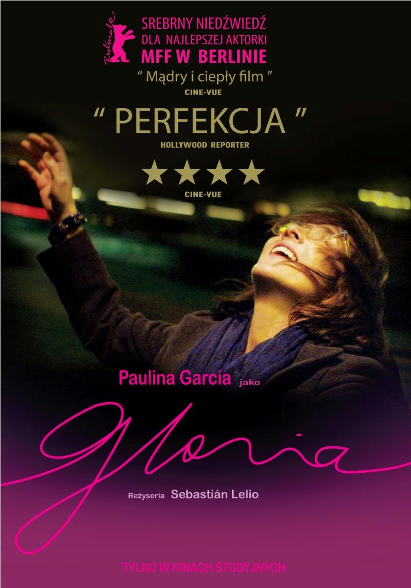 """""""Gloria"""" reż. Sebastián Lelio – plakat (źródło: materiały prasowe dystrybutora)"""