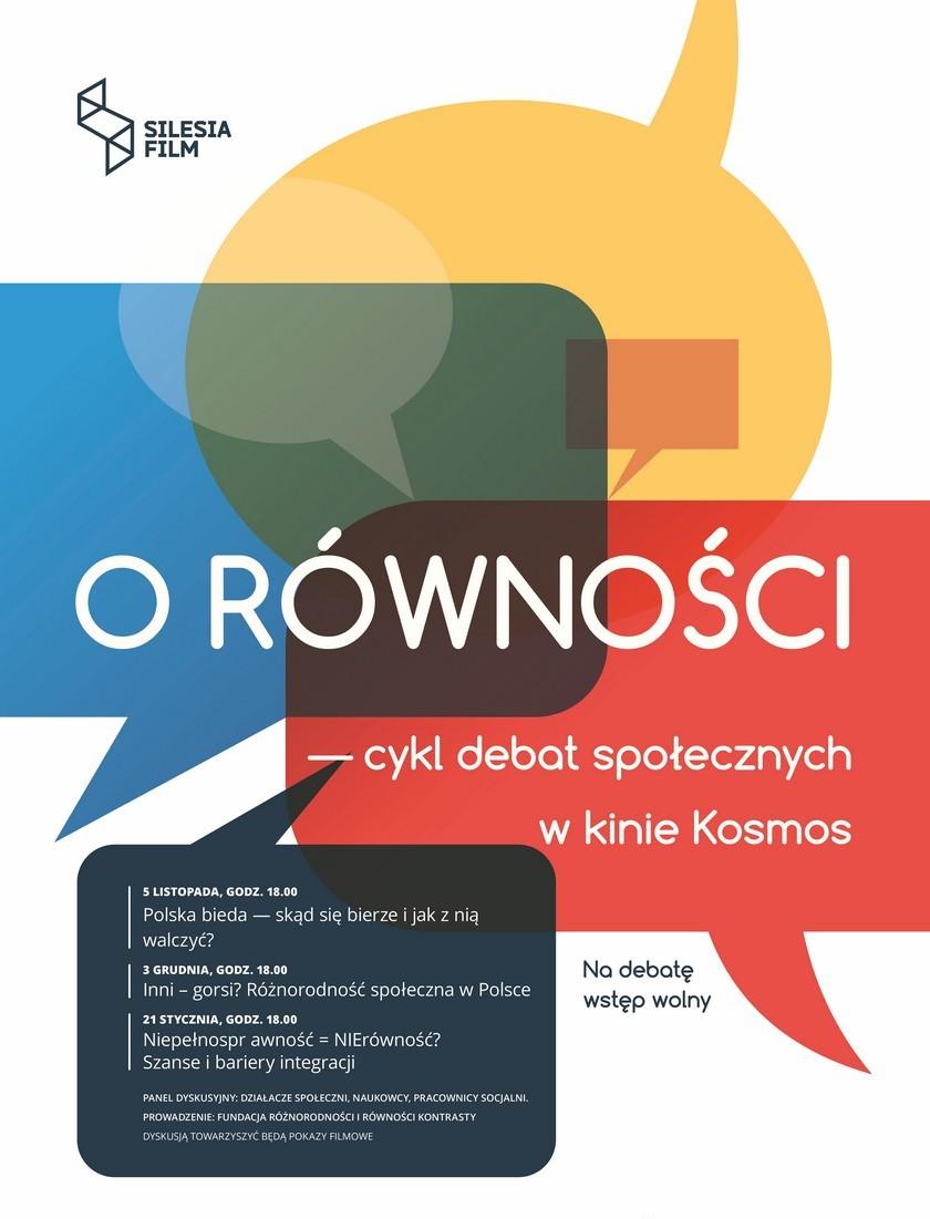 """""""Inni-gorsi? Różnorodność społeczna w Polsce"""" – plakat (źródło: materiały prasowe organizatora)"""