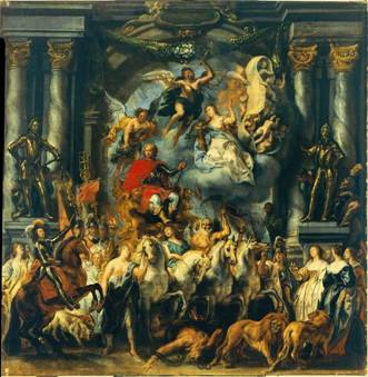 """Jacob Jordaens, """"Triumf Fryderyka Henryka, księcia Oranii"""" (źródło: materiały prasowe organizatora)"""