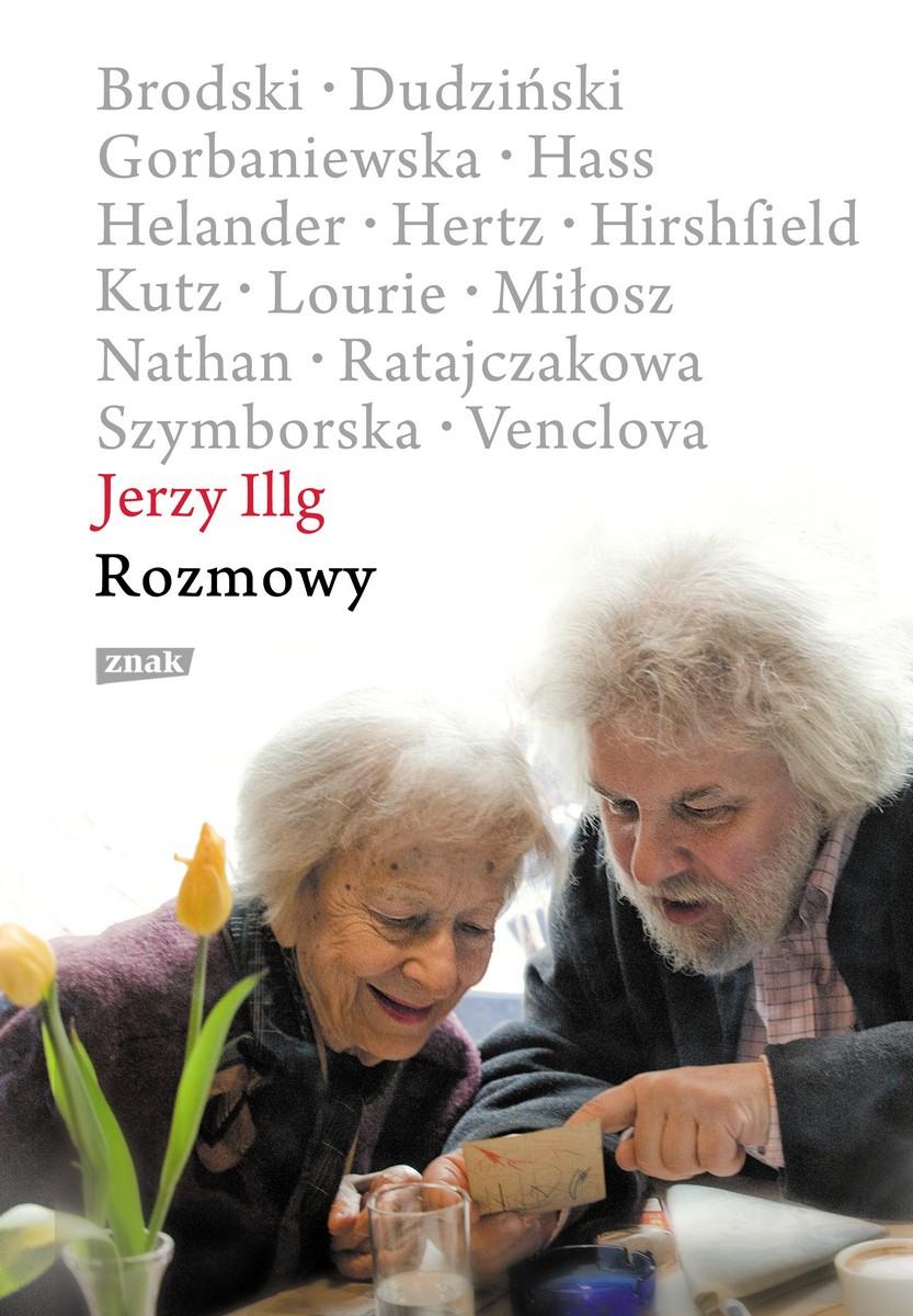 """Jerzy Illg """"Rozmowy"""" – okładka (źródło: materiały prasowe)"""
