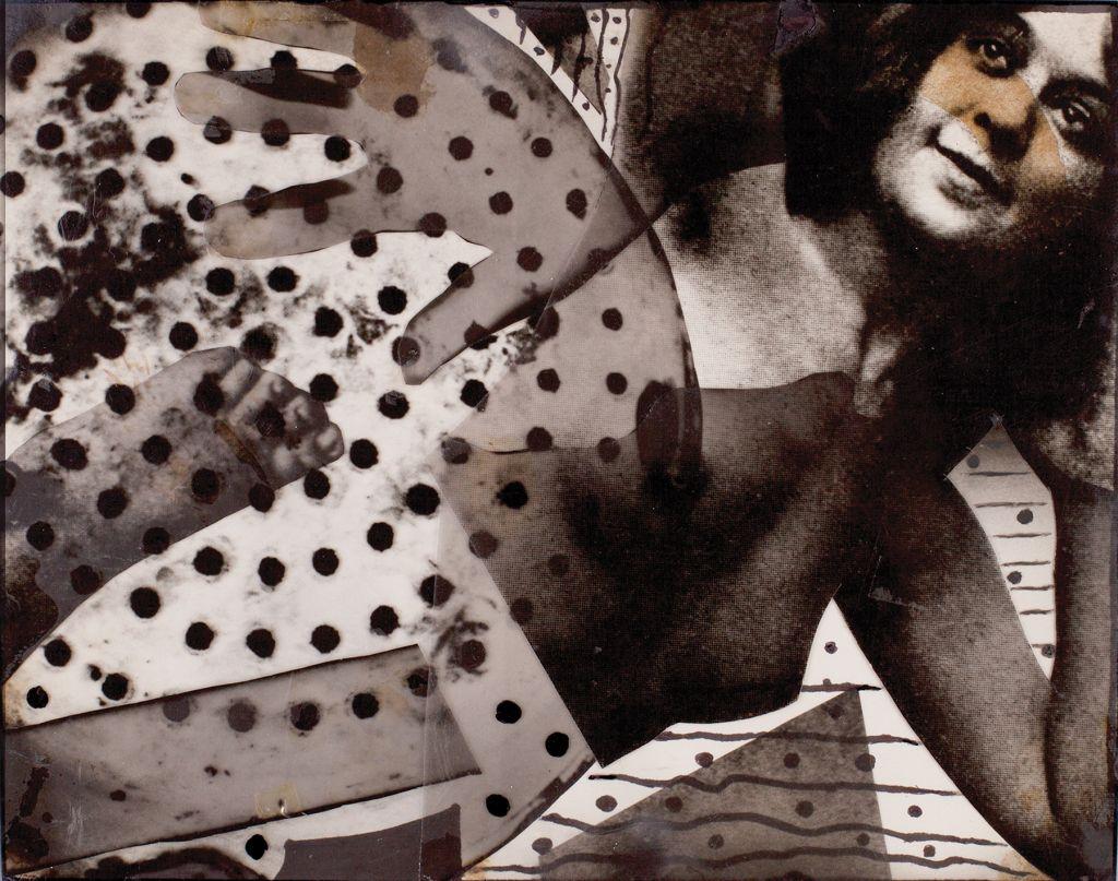 """Józef Robakowski, """"Foliomontaż 2"""" (technika własna), 1969, z kolekcji Many Hands Make Light Work (źródło: materiały prasowe)"""