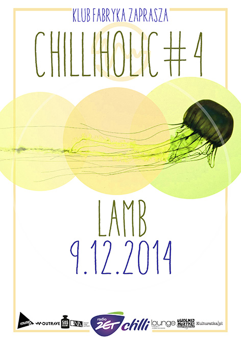 Lamb – plakat koncertu (źródło: materiały prasowe organizatora)