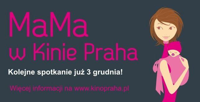 Mama w kinie Praha, plakat (źródło: materiały prasowe)