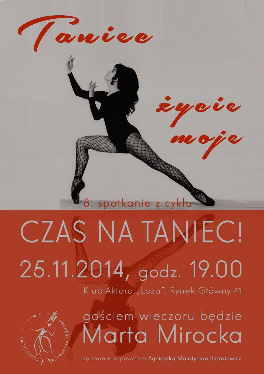 """Czas na taniec!, """"Taniec – życie moje"""", plakat (źródło: materiały prasowe)"""