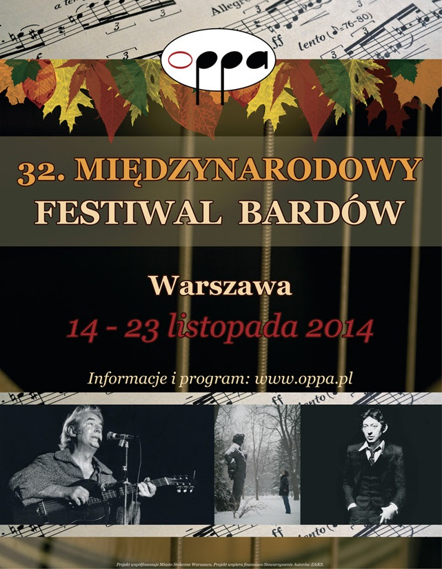 """""""Premiery i Interpretacje"""" – Koncert Galowy OPPA 2014, plakat (źródło: materiały prasowe)"""