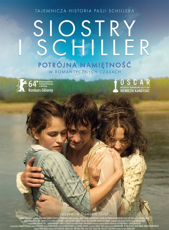 """""""Siostry i Schiller"""" reż. Dominik Graf – plakat (źródło: materiały prasowe dystrybutora)"""