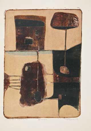 Tadeusz Łapiński, ???, 1971, litografia barwna, własność prywatna (źródło: materiały prasowe organizatora)