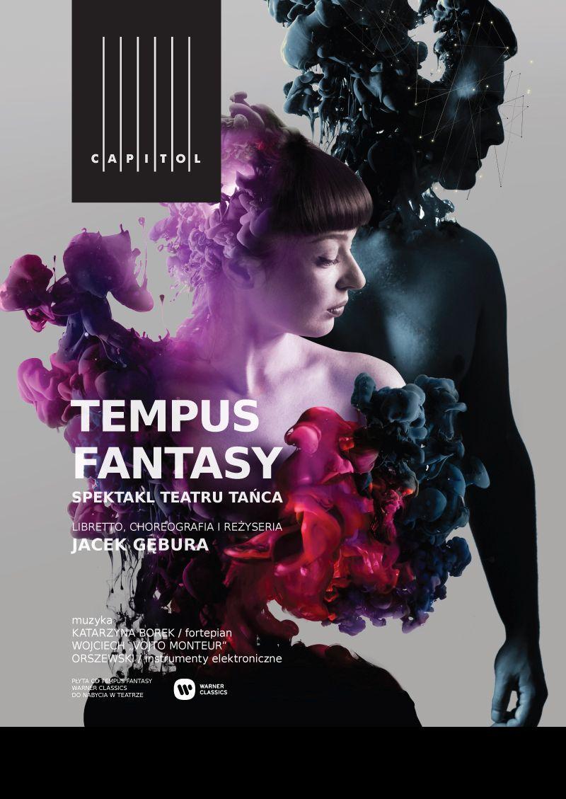 """Teatr Muzyczny Capitol, """"Temptus Fantasy"""", plakat (źródło: materiały prasowe)"""