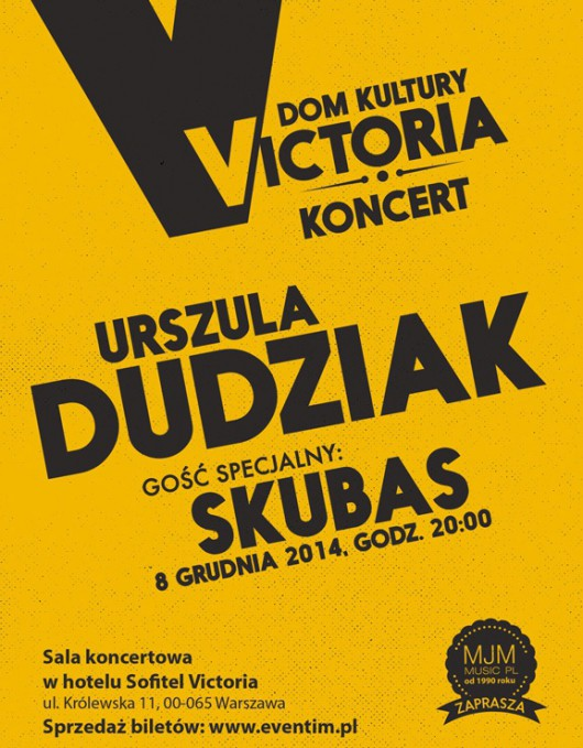 Urszula Dudziak, Skubas – koncert (źródło: Materiały prasowe organizatora)
