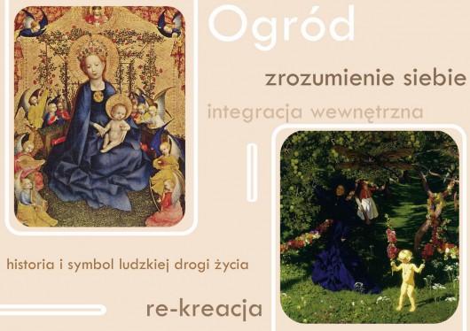 Warsztaty słowa i obrazu. Światła symboli / w stronę ogrodu, logo (źródło: materiały prasowe organizatora)