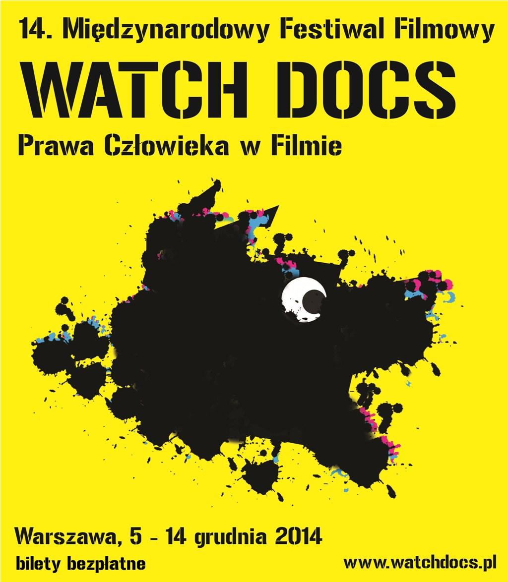Międzynarodowy Festiwal Filmowy Watch Docs. Prawa Człowieka w Filmie – plakat (źródło: materiały prasowe organizatora)