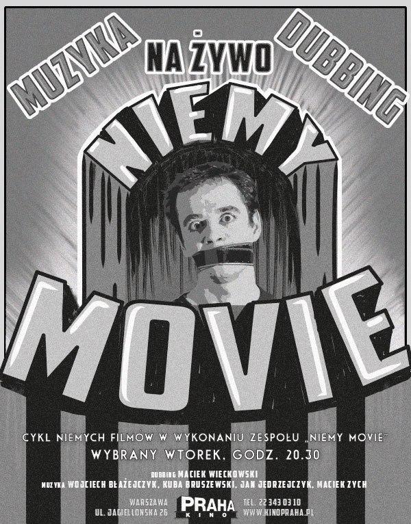 Niemy Movie – plakat (źródło: materiały prasowe organizatora)