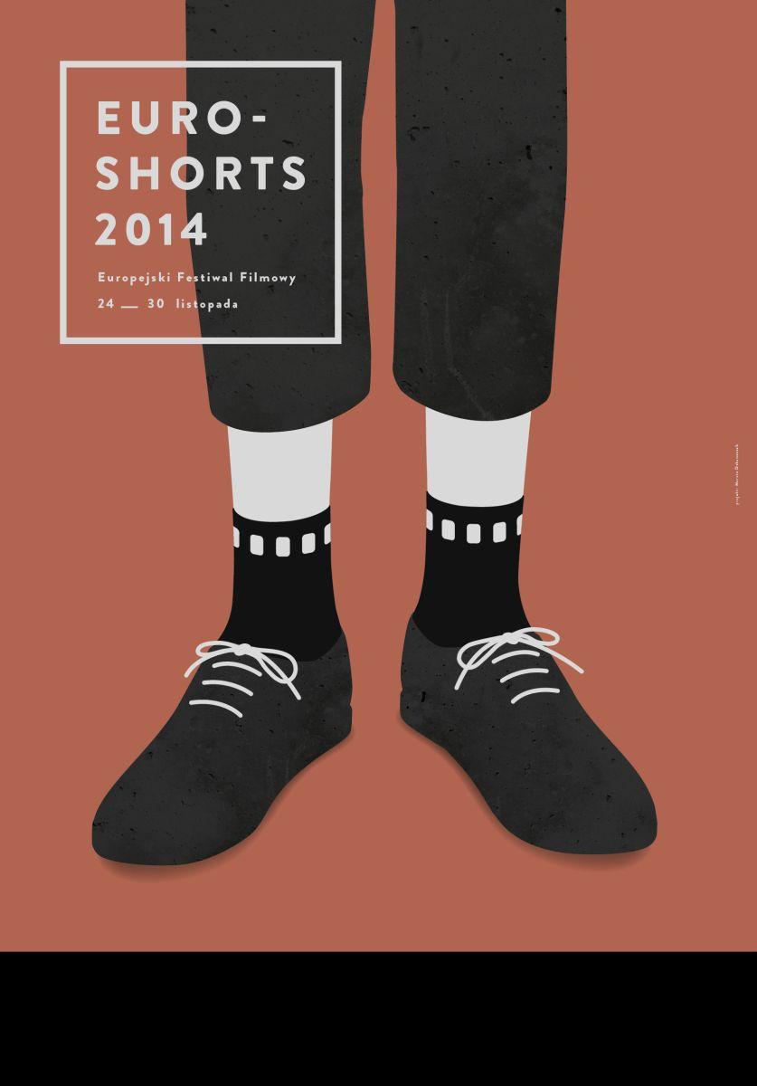 """Festiwal """"Euroshorts"""", plakat (źródło: materiały prasowe)"""